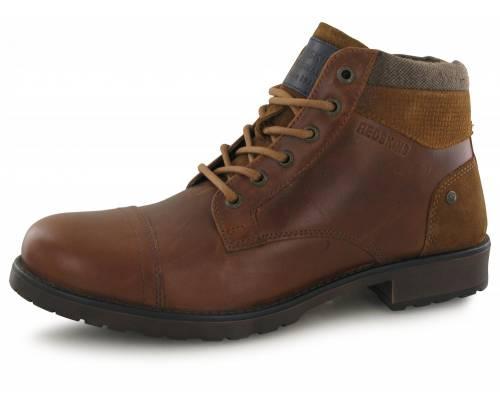 Boots Redskins Ebien Cognac