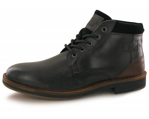 Boots Redskins Tiran Noir / Chataigne
