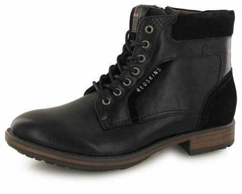 Boots Redskins Ortie Noir