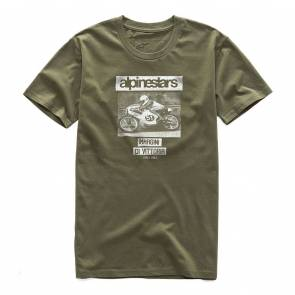 T-shirt Alpinestars Tuck Premium Military