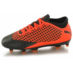 Puma Future 2.4 Fg Noir / Orange Junior