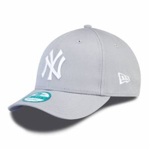 Casquette New Era 940 Mlb Yankees Gris / Blanc