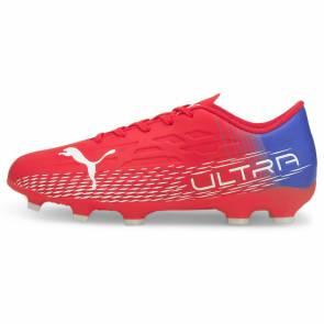 Puma Ultra 4.3 Fg/ag Rouge / Bleu Enfant