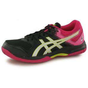 Asics Gel Rocket Noir / Rose