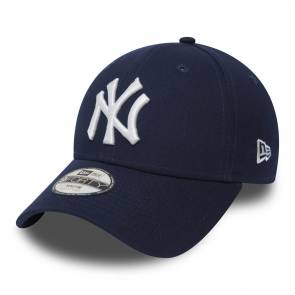 Casquette New Era New York Yankees Essential 9forty Marine / Blanc Junior