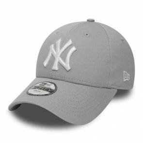 Casquette New Era Mlb Yankees Gris / Blanc