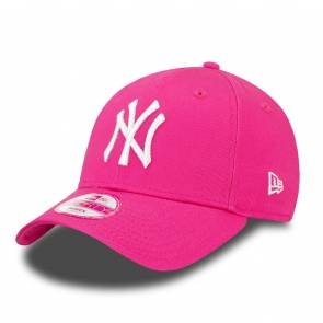 Casquette New Era 9forty New York Rose / Blanc