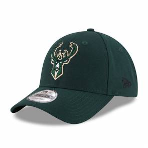Casquette New Era Milwaukee Bucks 9forty Vert