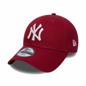 Casquette New Era New York Yankees 9forty Bordeaux Enfant