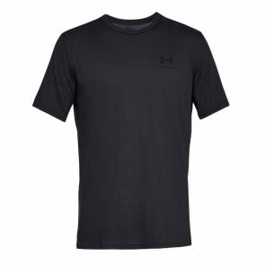T-shirt Under Armour Sportstyle Left Chest Noir