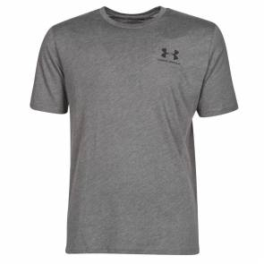 T-shirt Under Armour Sportstyle Left Chest Gris