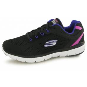 Skechers Flex Appeal Steady Move Noir Femme