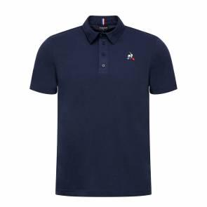 Polo Le Coq Sportif Essentiels Bleu