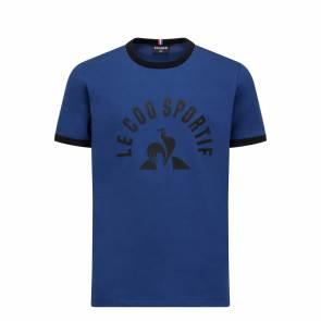 T-shirt Le Coq Sportif Bat Bleu Enfant