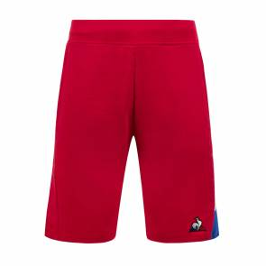 Short Le Coq Sportif Tricolore Regular Rouge
