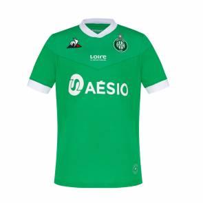Maillot Le Coq Sportif Saint Etienne Domicile 2020-21 Vert Enfant