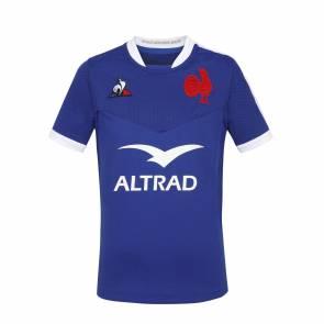 Maillot Le Coq Sportif France Ffr Bleu Enfant