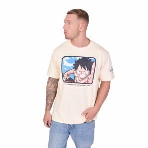 T-shirt Project X Paris One Piece Luffy Ivoire
