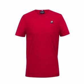 T-shirt Le Coq Sportif Essentiels Rouge Enfant