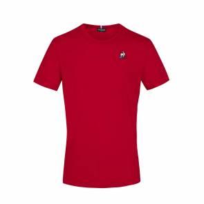 T-shirt Le Coq Sportif Tricolore Rouge
