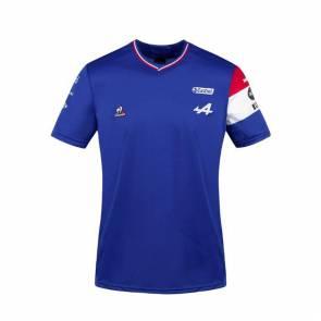 T-shirt Le Coq Sportif Alpine N31 Esteban Ocon Bleu