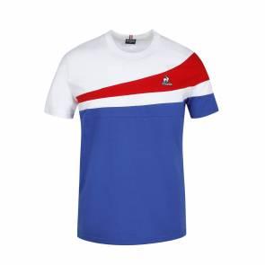 T-shirt Le Coq Sportif Tricolore Bleu