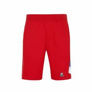 Short Le Coq Sportif Tricolore Rouge