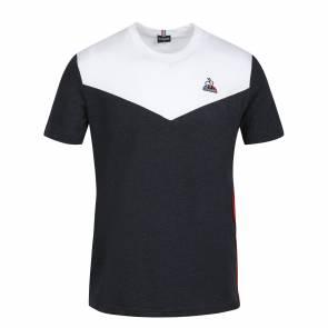 T-shirt Le Coq Sportif Tricolore Bleu / Blanc