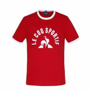 T-shirt Le Coq Sportif Bat Rouge Enfant