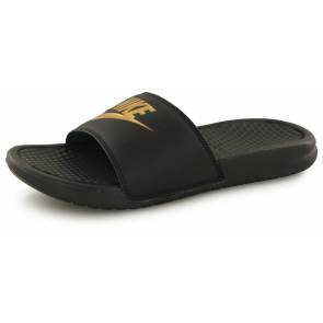 Claquettes Nike Benassi Jdi Noir / Or