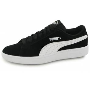 Puma Smash Sd Noir / Blanc Junior