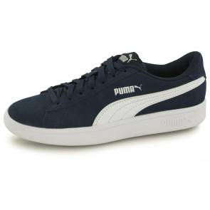 Puma Smash Sd Bleu Junior