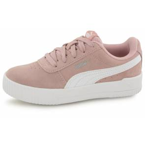 Puma Carina Leather Peche Fille