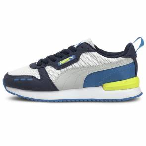 Puma R78 Blanc / Bleu Enfant