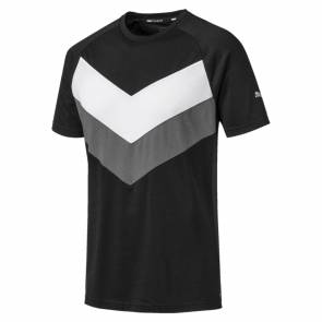 T-shirt Puma Reactive Colorblock Noir / Gris