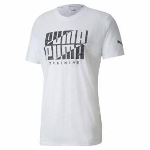 T-shirt Puma Branded Blanc