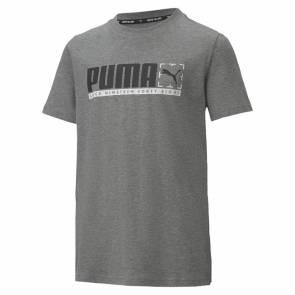 T-shirt Puma Active Graphic Gris Enfant