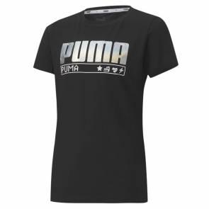 T-shirt Puma Alpha Graph Noir Fille