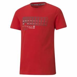 T-shirt Puma Active Rouge Enfant