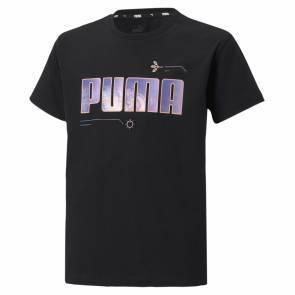 T-shirt Puma Alpha Noir Fille