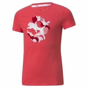 T-shirt Puma Alpha Rose Fille