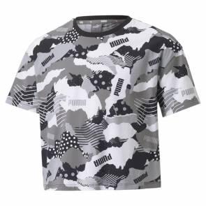 T-shirt Puma Alpha Aop Camo Fille