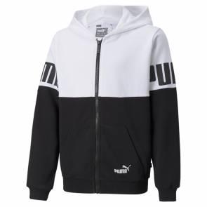 Veste Puma Power Blanc / Noir Enfant
