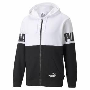 Veste Puma Power Colorblock Blanc / Noir