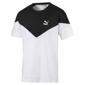 Pantalon Puma Icon Mcs Blanc / Noir