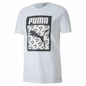 T-shirt Puma Logo Fill Blanc