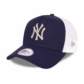 Casquette New Era New York Yankees Diamond Trucker Bleu / Blanc