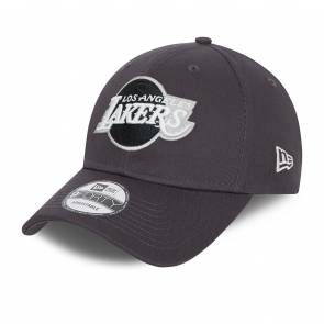 Casquette New Era Los Angeles Lakers 9forty Gris