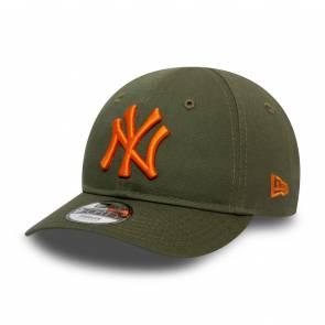 Casquette New Era New York Yankees 9forty Vert / Orange Enfant