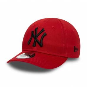 Casquette New Era New York Yankees 9forty Rouge / Noir Enfant